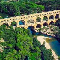 Pont du Gard - Het spectaculaire Romeinse bouwwerk in vlammen !