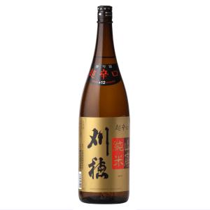 刈穂 山廃純米超辛口 1800ml