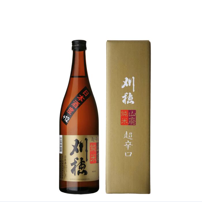 刈穂 山廃純米超辛口 720ml