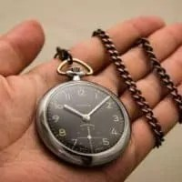 Uhr Hand Termin