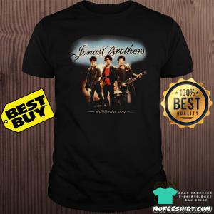 Jonas Brothers world tour 2019 shirt