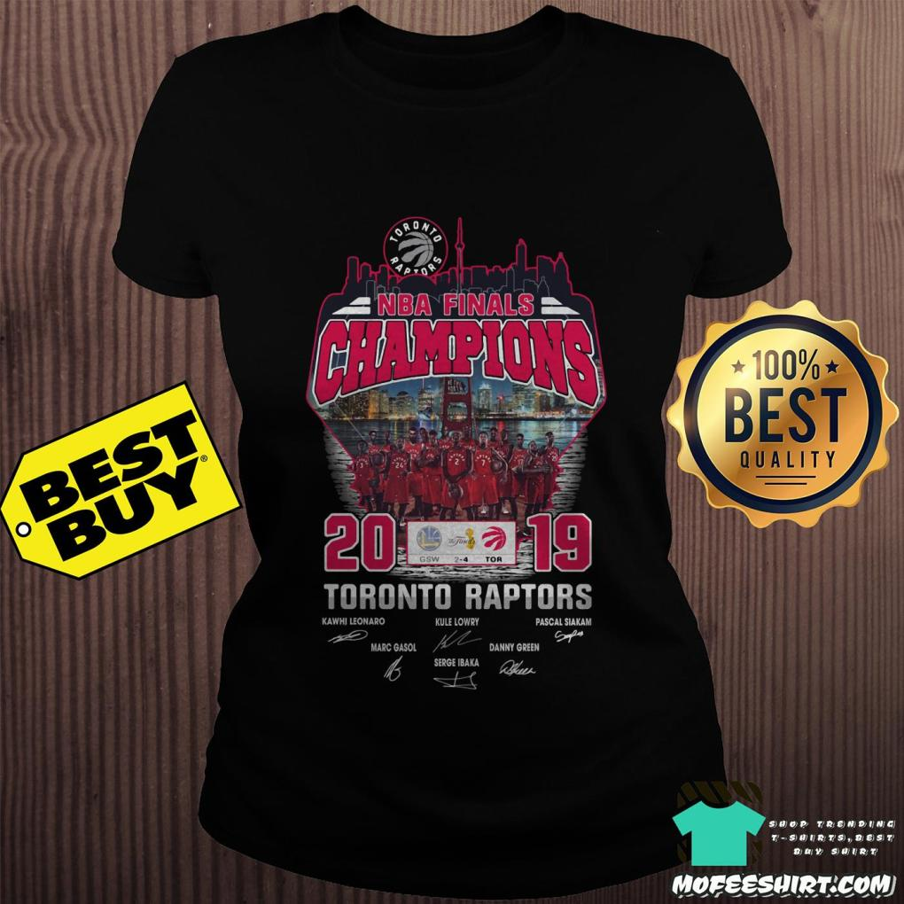 2019 nba finals champions toronto raptors ladies tee - 2019 NBA Finals Champions Toronto Raptors Shirt