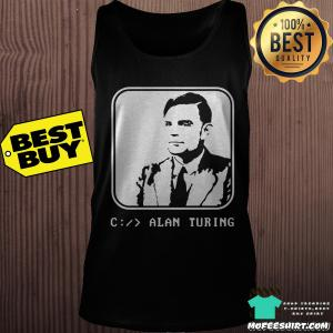 Alan Turing Enigma Code Breaking shirt