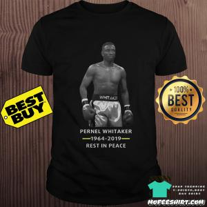 Rip Pernell Whitaker 1964-2019 rest in peace shirt