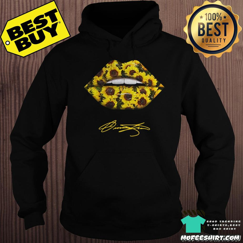 lips mouth sunflower signatures hoodie - Lips Mouth Sunflower Signatures shirt
