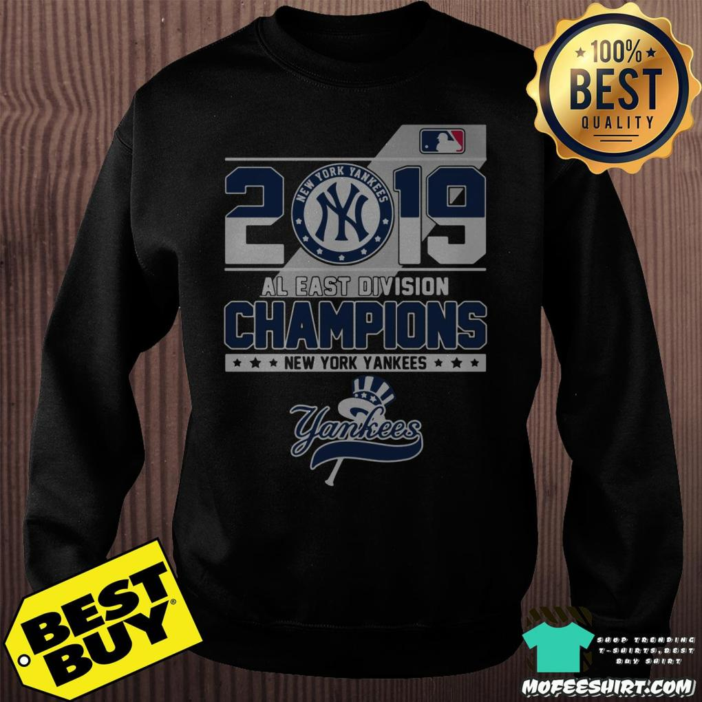 2019 al east division champions new york yankees sweatshirt -  2019 Al East Division Champions New York Yankees shirt