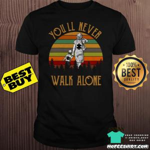 You'll Never Walk Alone Colorful Version Shirt