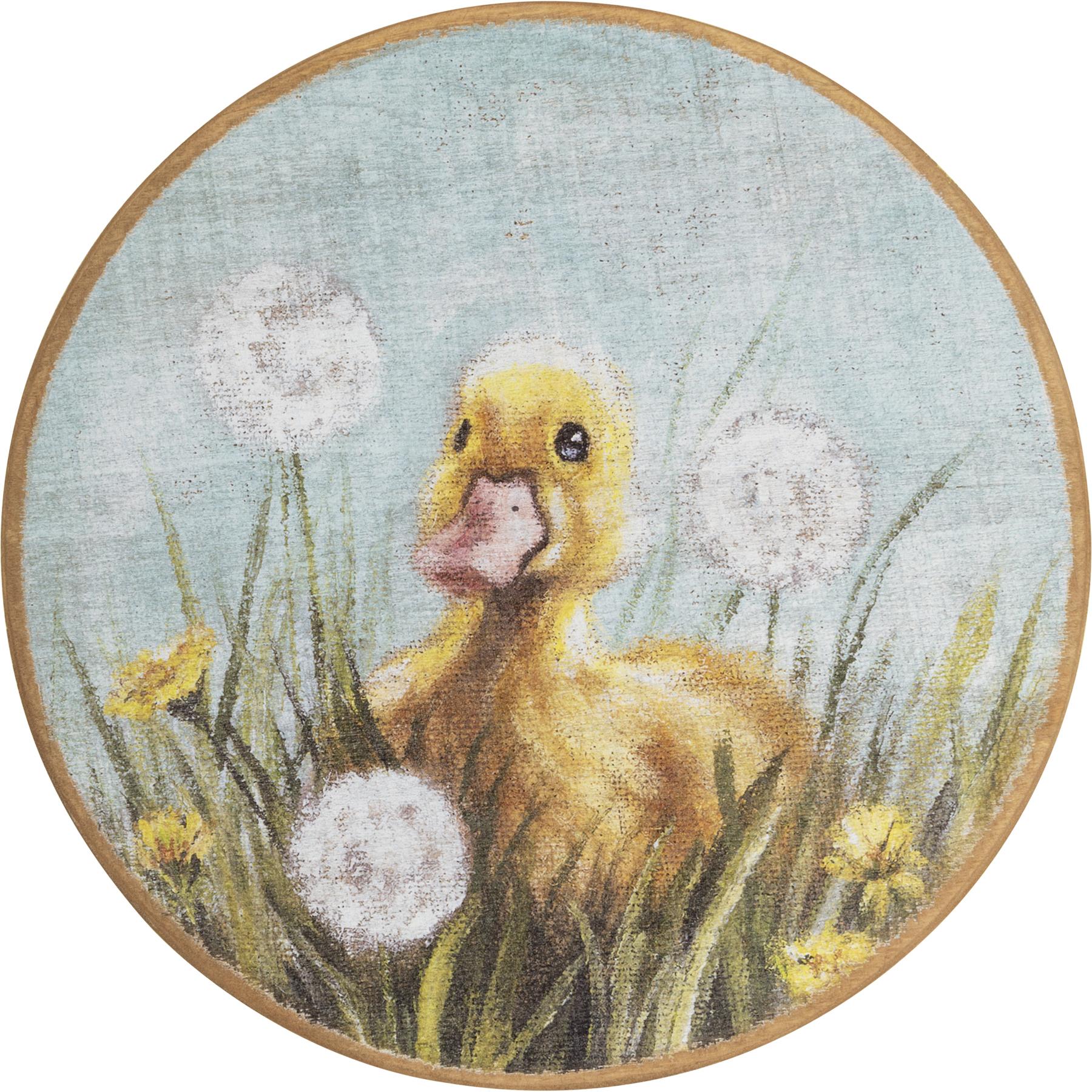 Wreath Insert-Duckling