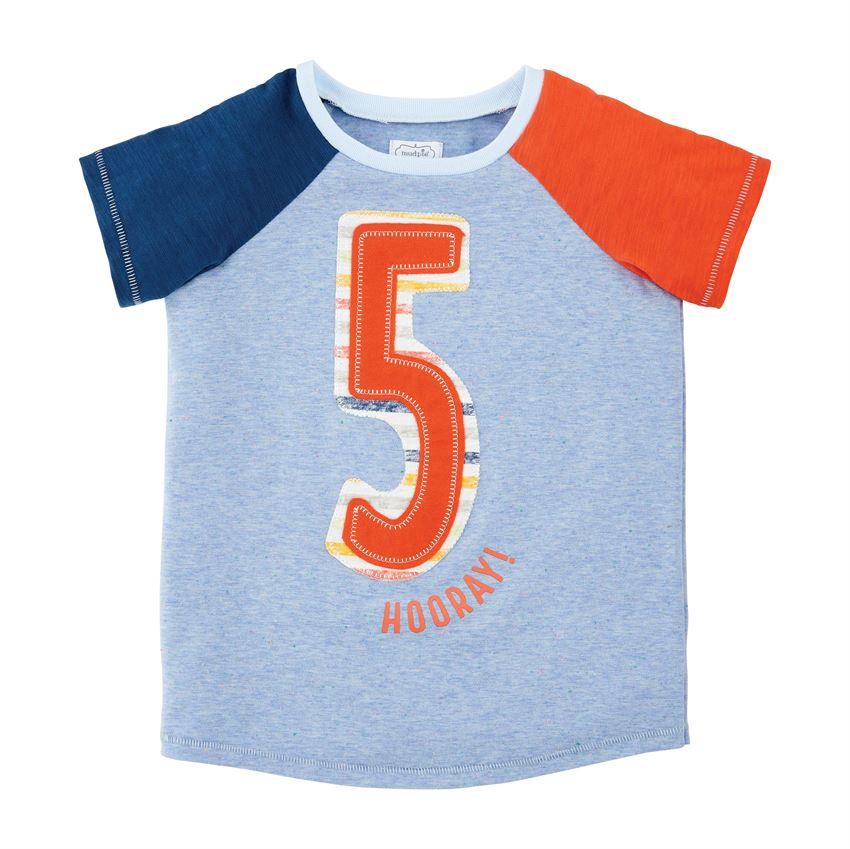 Birthday Shirt-Boy Five