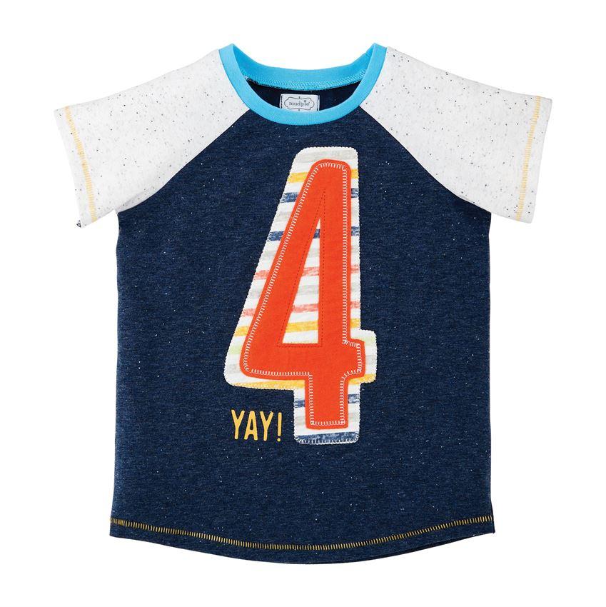 Birthday Shirt-Boy Four