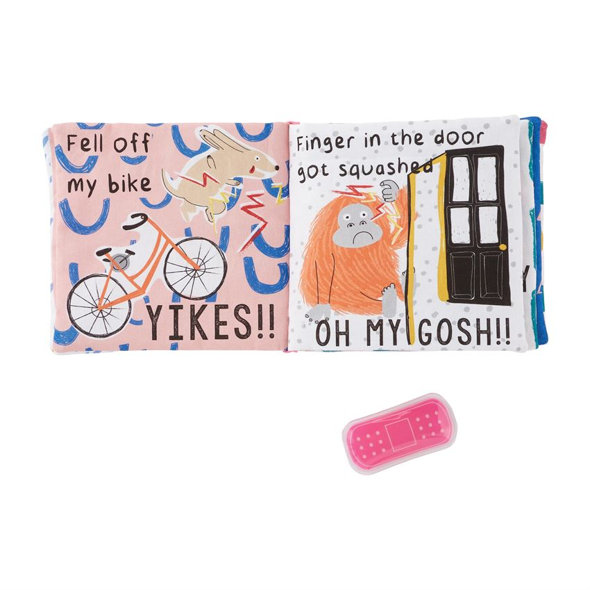 Pink Ouch Pouch Book