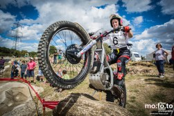 Danielle Whitham during qualification laps at North Berks SuperTrial – NATIONAL Championship, 03 AUGUST 2013