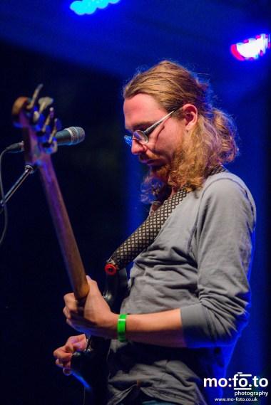 Zeus headline Friday Night at Wapiti Festival 2014- 8th August 2014