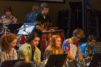 Global Drums, University of Lethbridge, at Mountainside Church, Fernie - 28th September 2014