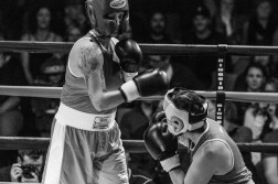 Judgement Night - Fernie Community Centre Boxing Charity Event In Aid of Smiles for Shyanne - 7th February 2015 - Barrie Ellio Vs Shanon W