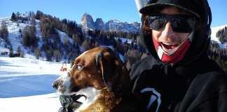 Cody Ferris-Heath mit Hund