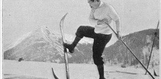 Freeheel ski