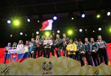 Team Event Podium