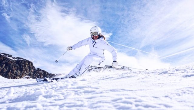 Skiing Linda