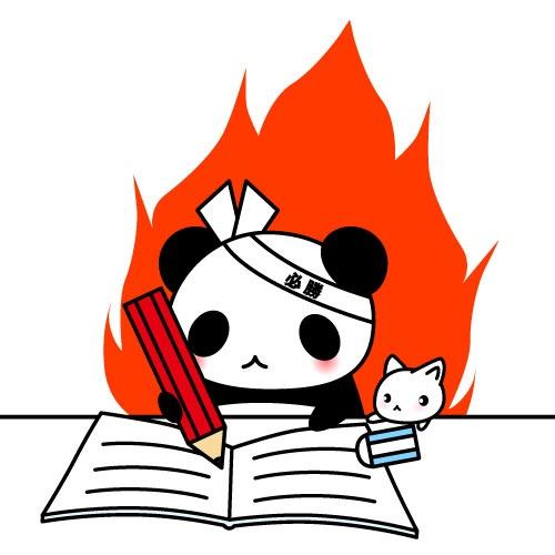 勉強 パンダ