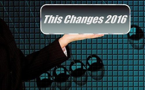 2016年 変化 変わる