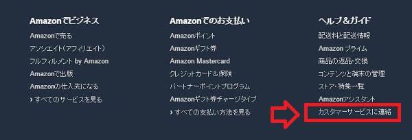 Amazon カスタマーサービス
