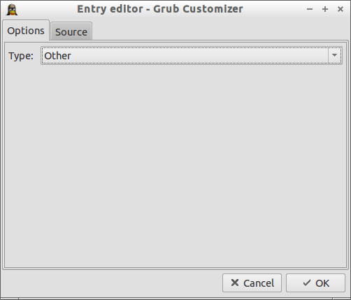 Grub Customizer_Entry editor