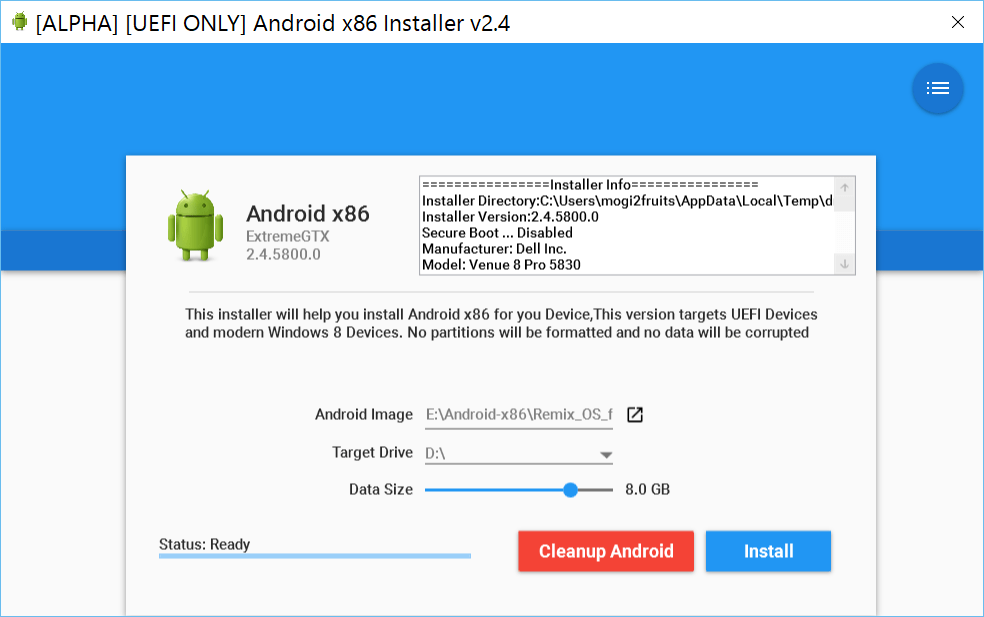 Android-x86-installer