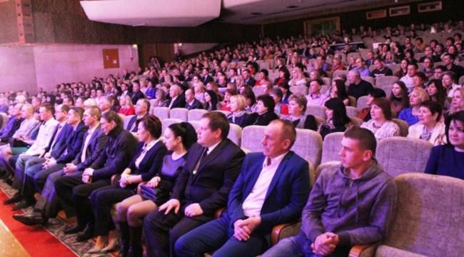 Торжественное собрание, посвящённое Дню работников бытового обслуживания населения и жилищно-коммунального хозяйства, Могилёв 24 марта 2017 года.