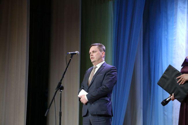 Выступает начальник управления жилищно-коммунального хозяйства Могилёвского облисполкома Сергей ВАШКЕВИЧ