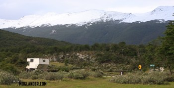 Camping in Tierra del Fuego National Park