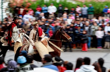 Gaucho parade in Salta Argentina