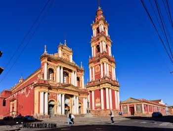 Cathedral in Salta, Argentina