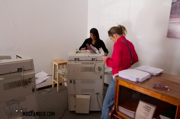 Photocopy shop in Sucre