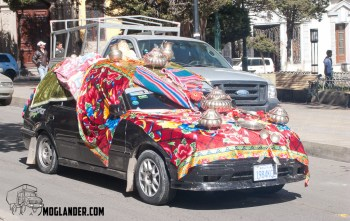 Bling. Bolivian Style