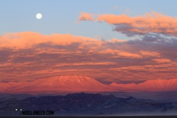 Moonset in the Atacama