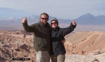 Overlooking Valle de la Murte, Atacama, Chile