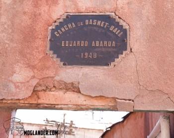 Pulacayo Basketball plaque