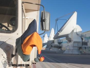 high precision antennas in the Atacama stargazing
