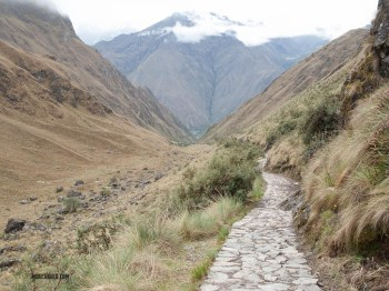 The inka trail goes through some very wild countryside