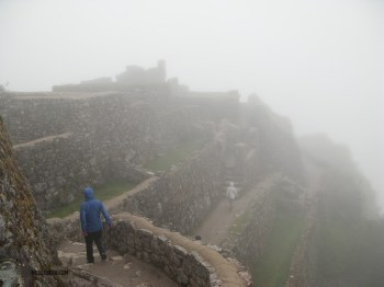 There were many sets of ruins to see along the Inka trail.