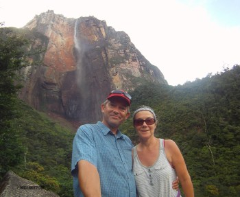 Angel Falls, and no clouds!
