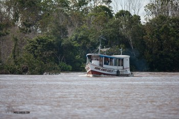 Large taxi on the Amazon