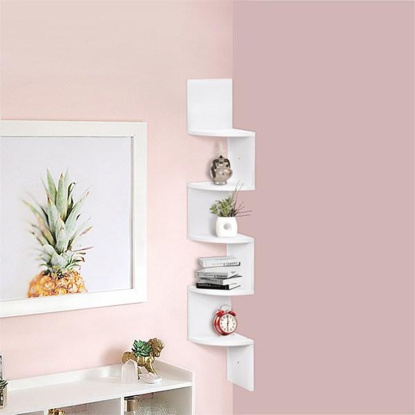 Полки на стену для книг в интерьере: навесные настенные ...