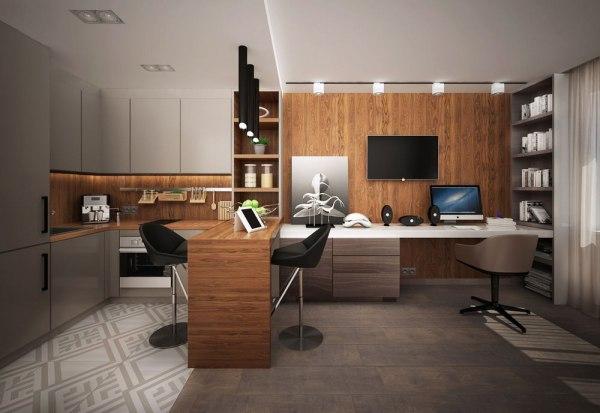 Дизайн квартиры студии: фото интерьеров студии 25 и 30 кв ...
