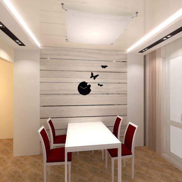 Ламинат на стене в интерьере. Фото дизайнов интреьеров