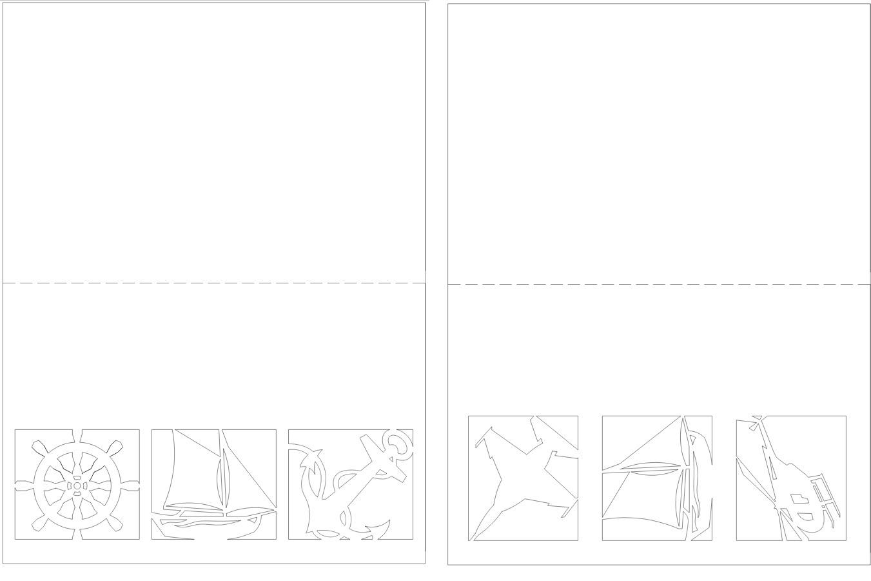 открытки из бумаги на 23 февраля вырезание орел свастика