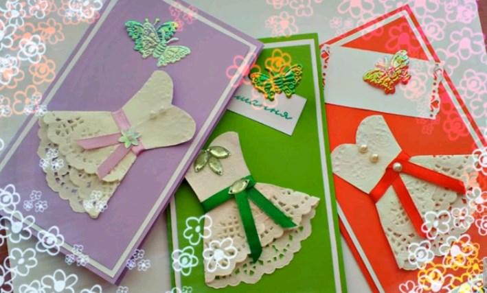 Привет нина, как сделать открытку для девочек 3 класса