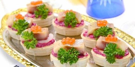Тарталетки с начинкой: простые и самые вкусные рецепты начинок