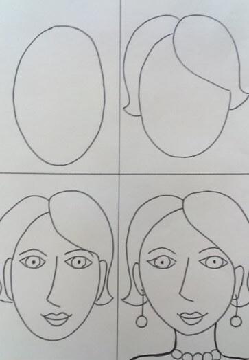 Как нарисовать маму красиво и легко: 10 мастер-классов